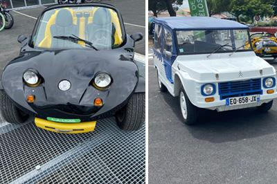 Buggies and cars